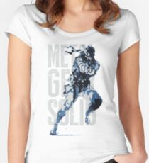 MGS17 - RUSSIAN MGS Women's Fitted Scoop T-Shirt