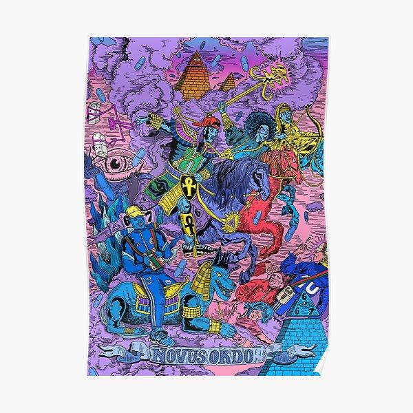 667 Killumanti New world order / Nouvel ordre mondial Poster