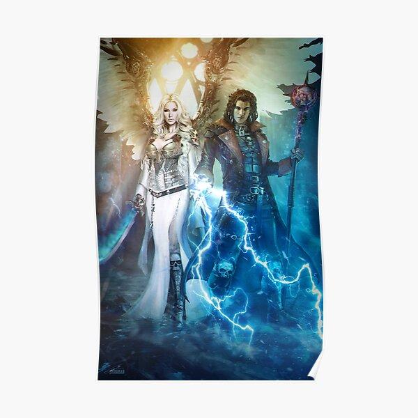 Warhammer 40k Zayel and Darius Poster