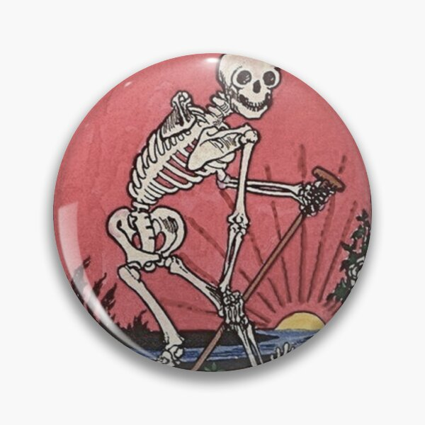 Death Tarot Pin