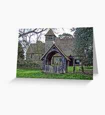 St Mary's Church, Stalisfield Greeting Card