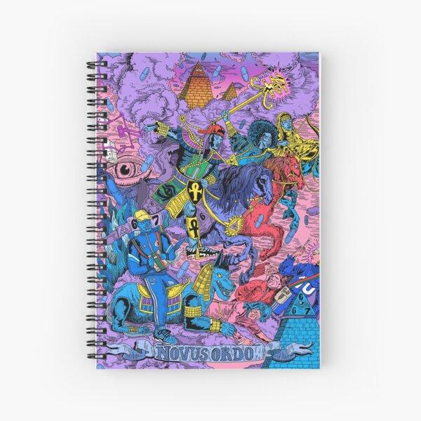 667 Killumanti New world order / Nouvel ordre mondial Cahier à spirale