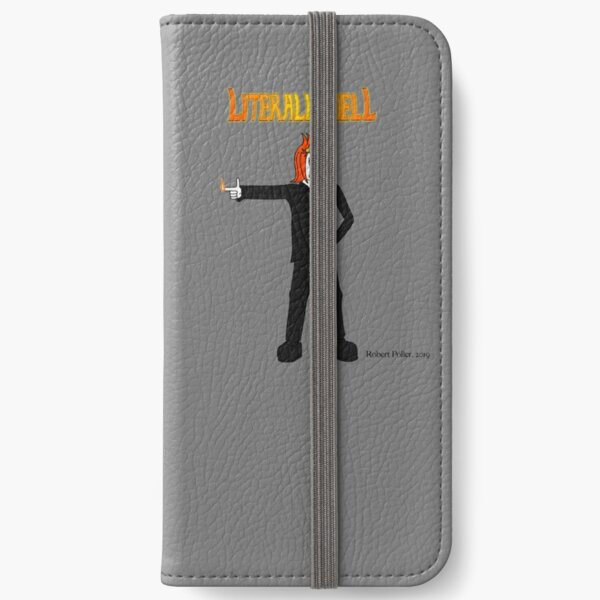 Literally Hell - Damien2 iPhone Wallet