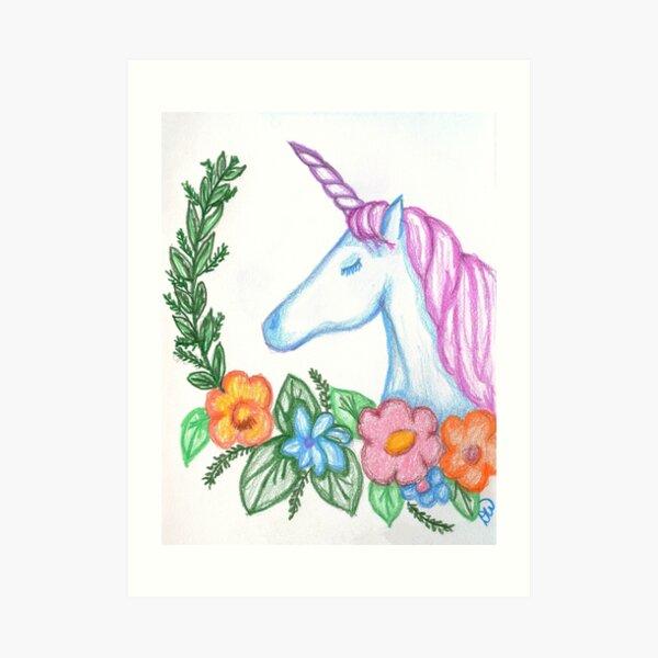 I still Believe in Magic - and Unicorns! Art Print