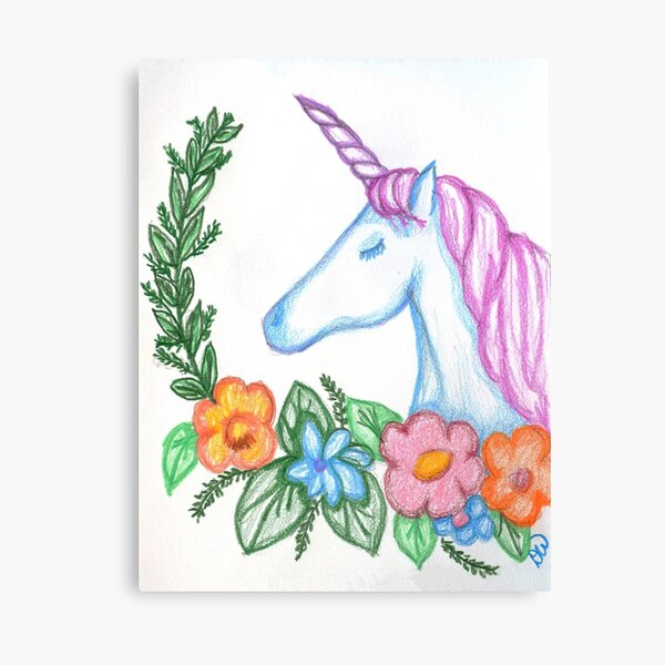 I still Believe in Magic - and Unicorns! Canvas Print