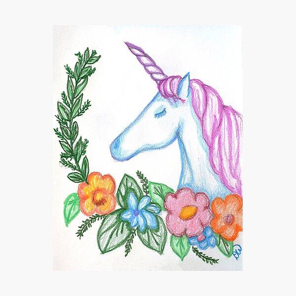 I still Believe in Magic - and Unicorns! Photographic Print