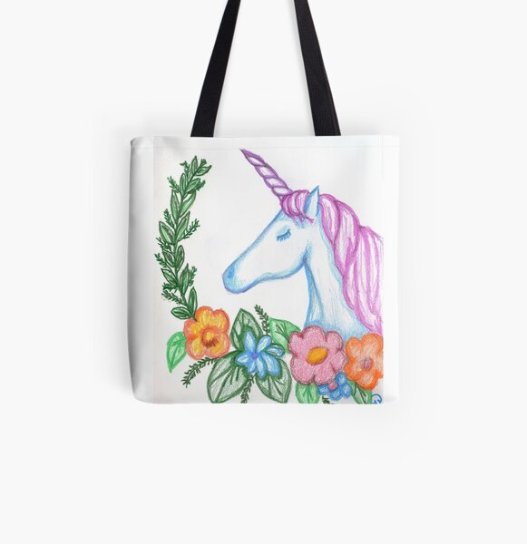 I still Believe in Magic - and Unicorns! All Over Print Tote Bag