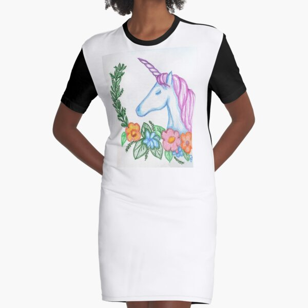 I still Believe in Magic - and Unicorns! Graphic T-Shirt Dress