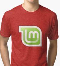 Linux Mint logo Tri-blend T-Shirt