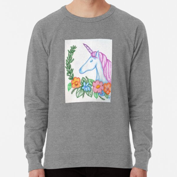 I still Believe in Magic - and Unicorns! Lightweight Sweatshirt