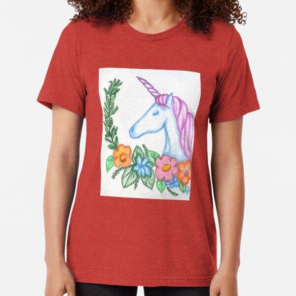 I still Believe in Magic - and Unicorns! Tri-blend T-Shirt