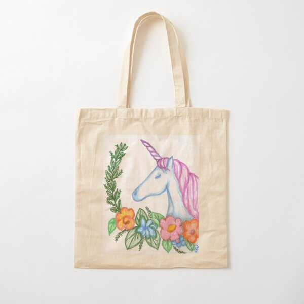 I still Believe in Magic - and Unicorns! Cotton Tote Bag