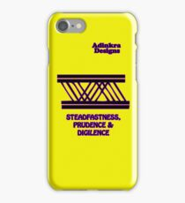 15a-iphone4-Adinkra-Series-Diligence iPhone Case/Skin