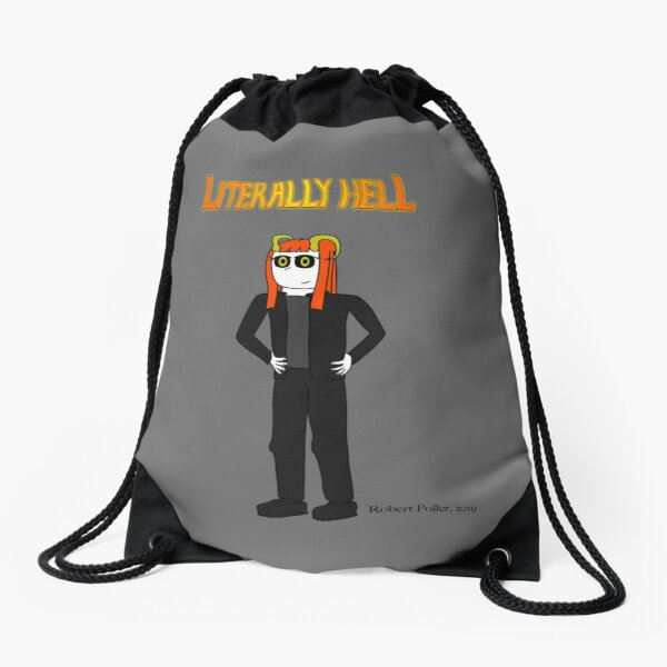Literally Hell - Lucy2 Drawstring Bag
