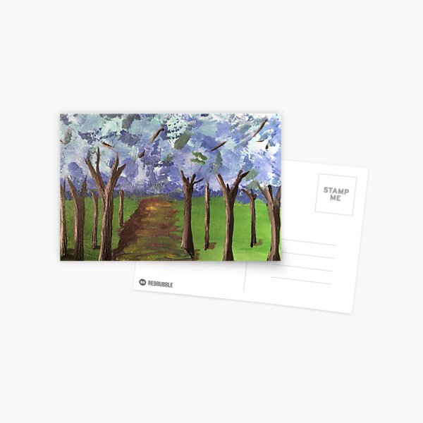 Within The Woods - Blue Forest Postcard