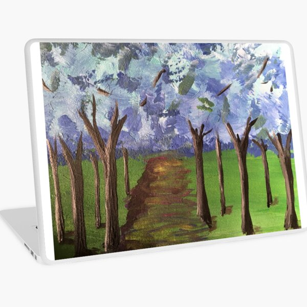 Within The Woods - Blue Forest Laptop Skin