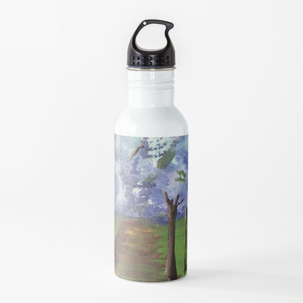 Within The Woods - Blue Forest Water Bottle