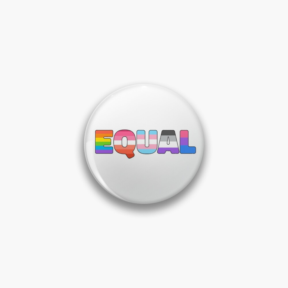 LGBT Pride Equality Matters Pin