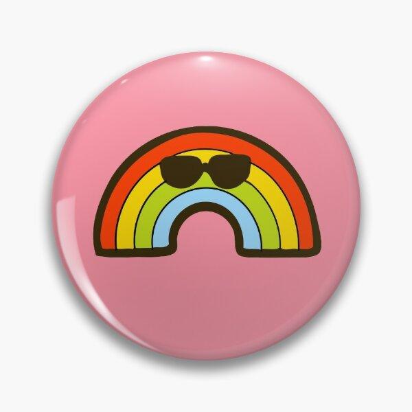Cool Rainbow Pattern Pin