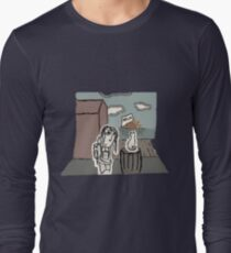 The Girl at the Dock's meet's a Cat T-Shirt