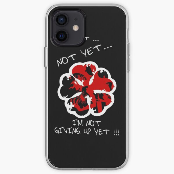I'm Not Given Up Yet , Black clover iPhone Soft Case