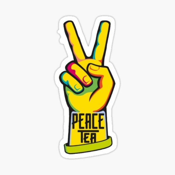 Peace Tea Sticker