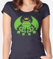 CATHULHU! Women's Fitted Scoop T-Shirt