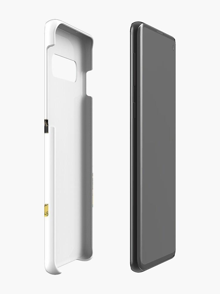 Vista alternativa de Funda y vinilo para Samsung Galaxy Gota BTC
