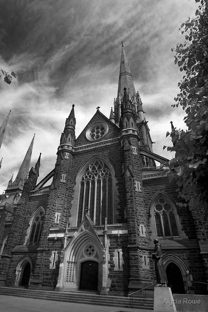 Outside St Patricks Cathedral by Alycia Rowe