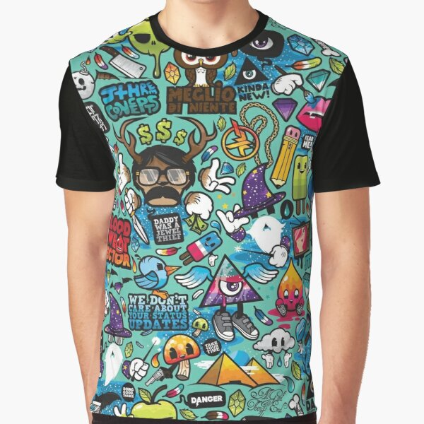 Pop Culture T-shirt graphique
