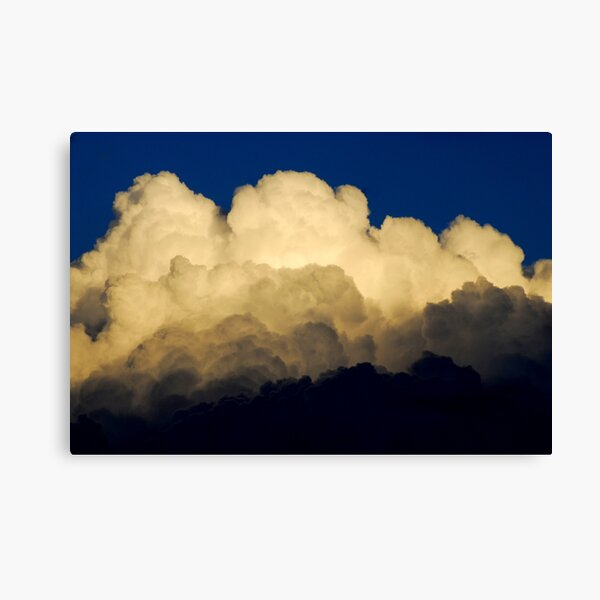 approaching thunderstorm Canvas Print