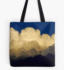 approaching thunderstorm Tote Bag