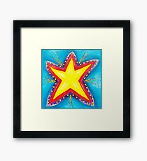 Your a star! Framed Print