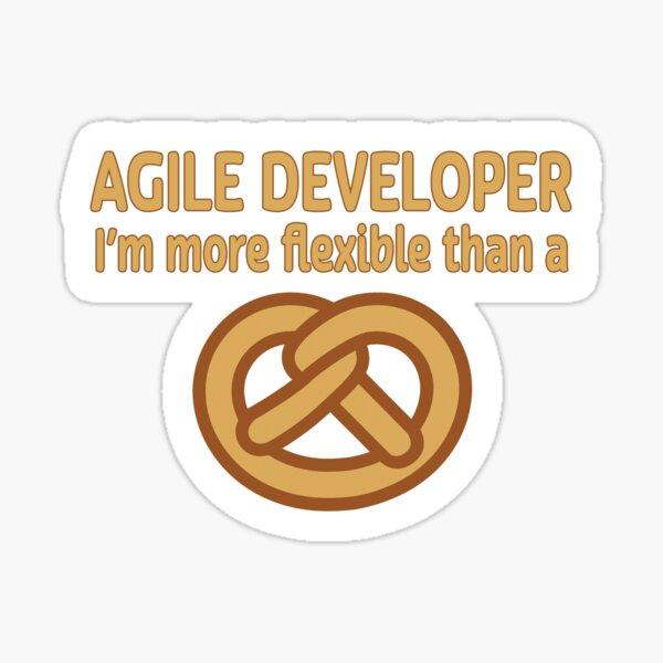 Agile Developer. Sticker