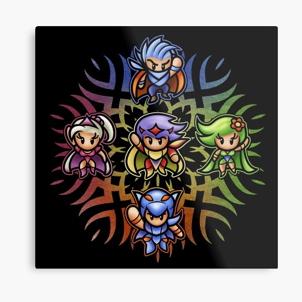 FF4 To the Center of the Moon Metal Print