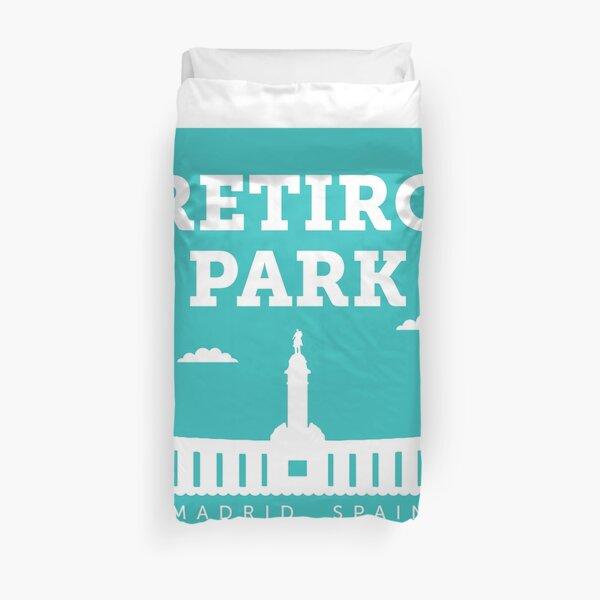 Parque del Retiro - Madrid, España Funda nórdica