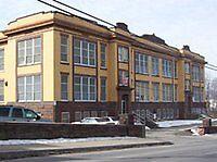 PLAINS MEMORIAL HIGH SCHOOL, PLAINS, PA by alhewitt