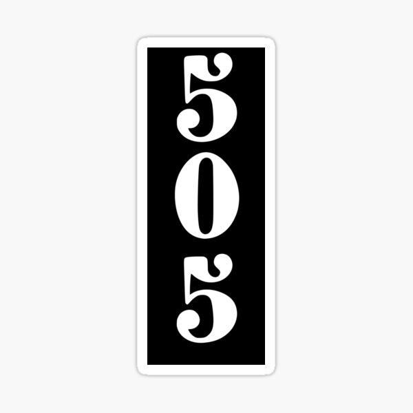 505 Sticker