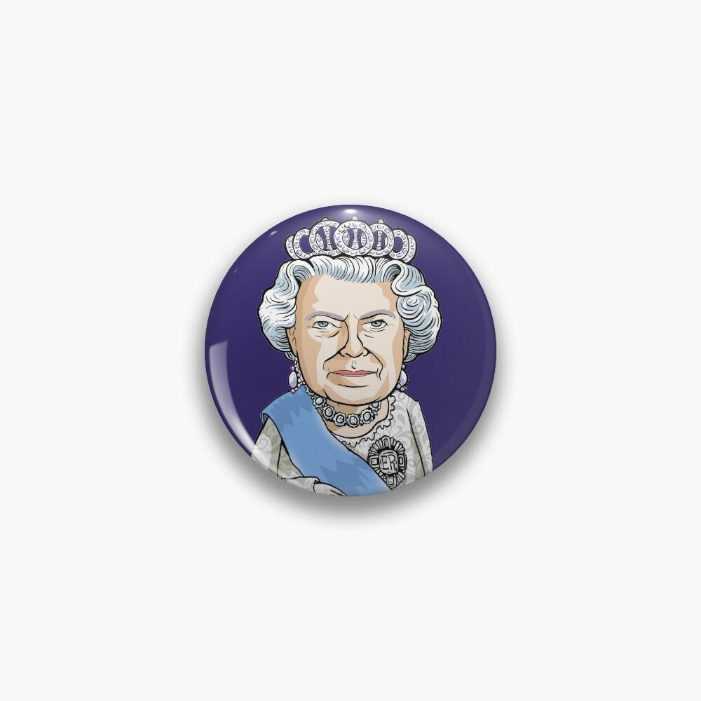 Queen Elizabeth II Pin