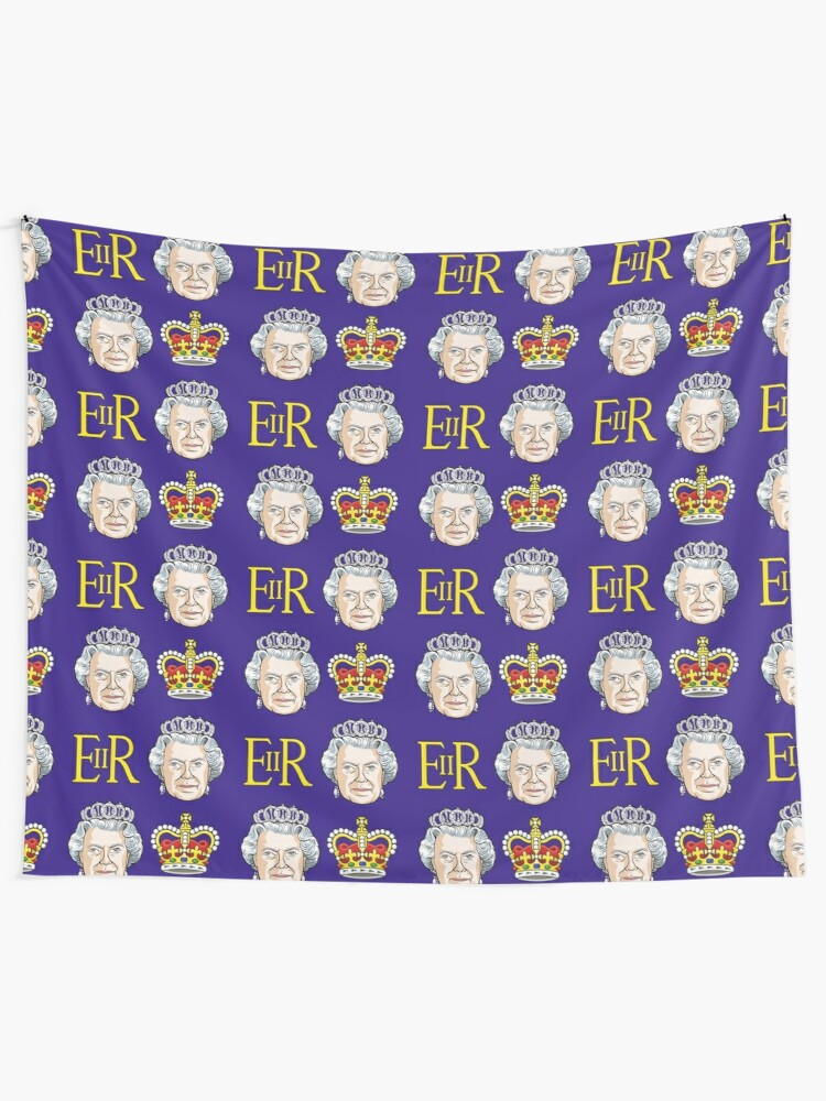 Alternate view of Queen Elizabeth II Tapestry