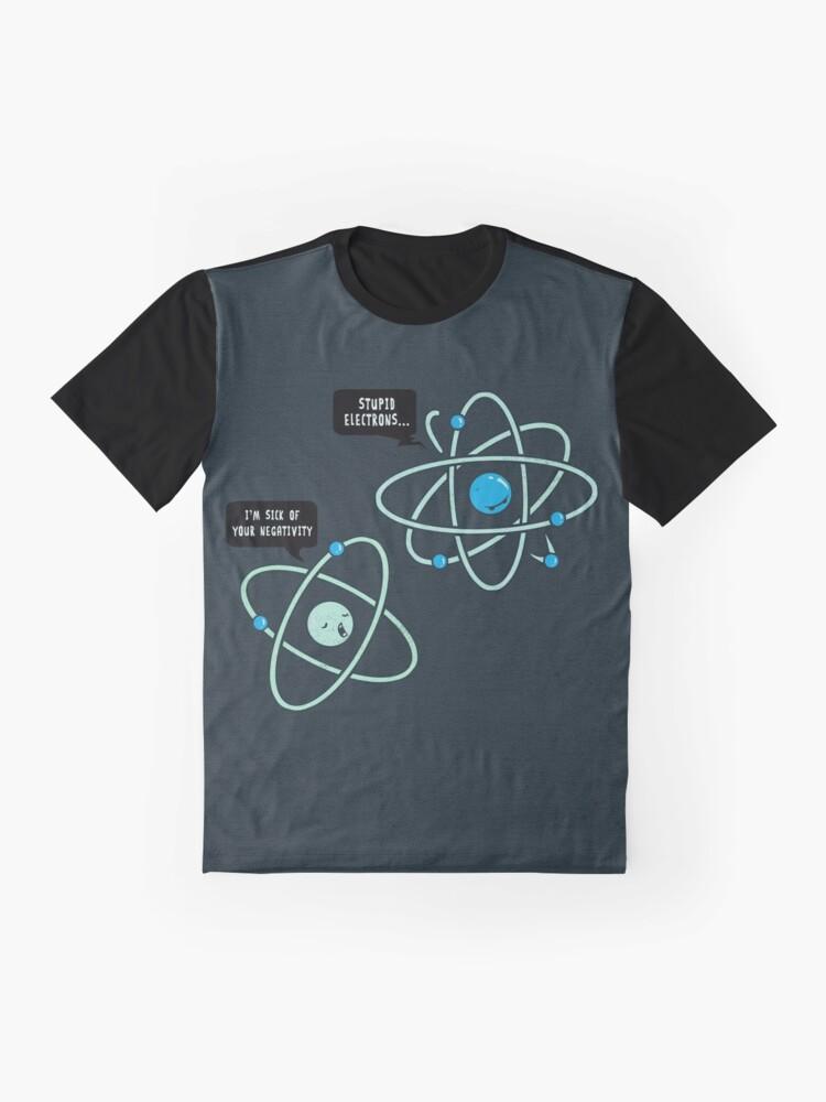 Alternate view of Negative Atom Graphic T-Shirt
