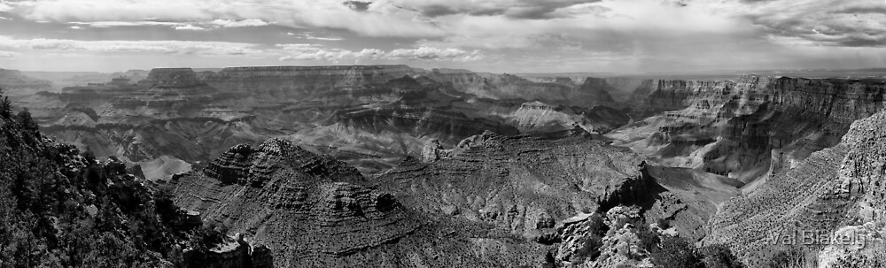 Grand Canyon National Park by Val Blakely