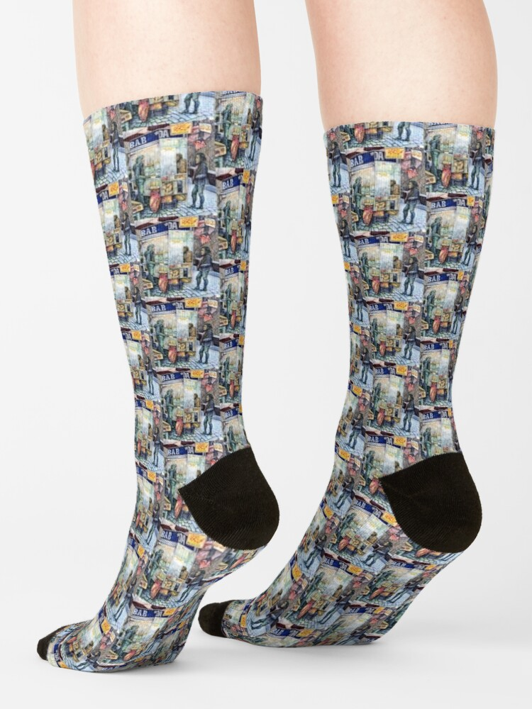 Alternate view of In Love with Trouble, And In Trouble with Love Socks