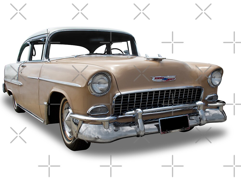 Chevrolet - 1955 Coupe by axemangraphics