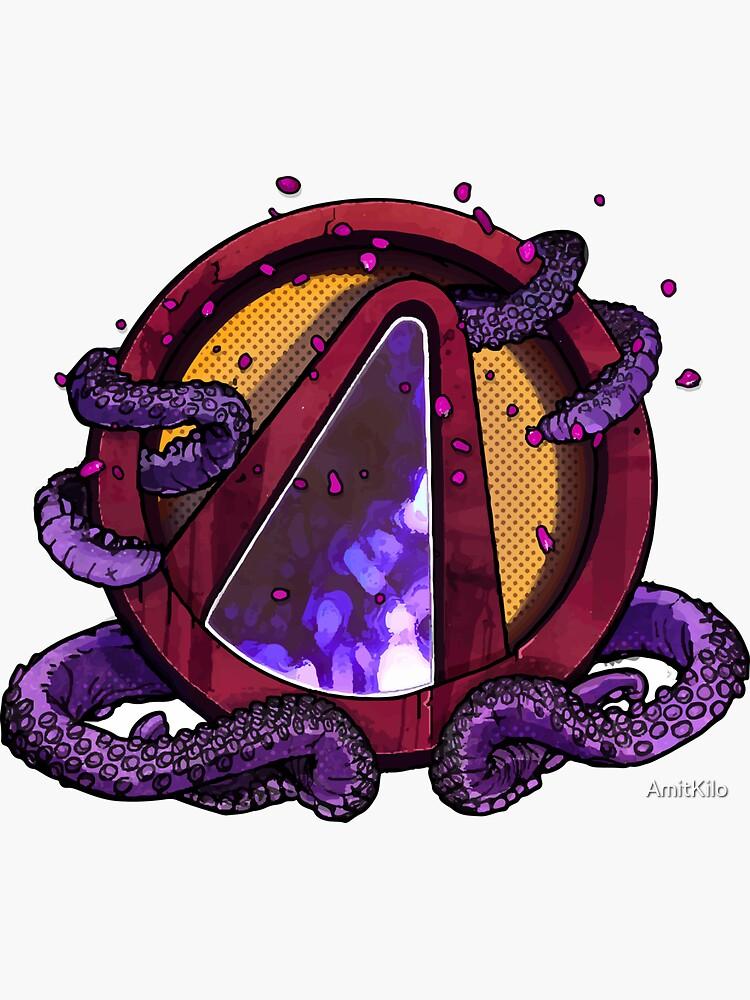 Borderlands 3 - Tentacles Vault Sign Logo by AmitKilo