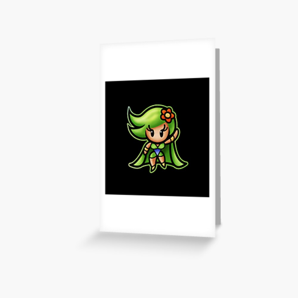 Rydia Adult 1991 Greeting Card