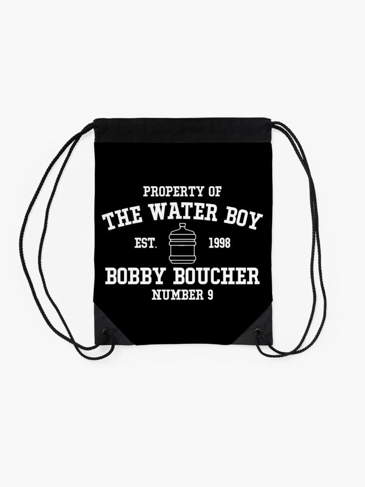 Alternate view of The Water Boy - Bobby Boucher Drawstring Bag