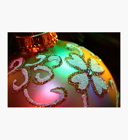 """Our Christmas Tree Jewel"" Photographic Print"