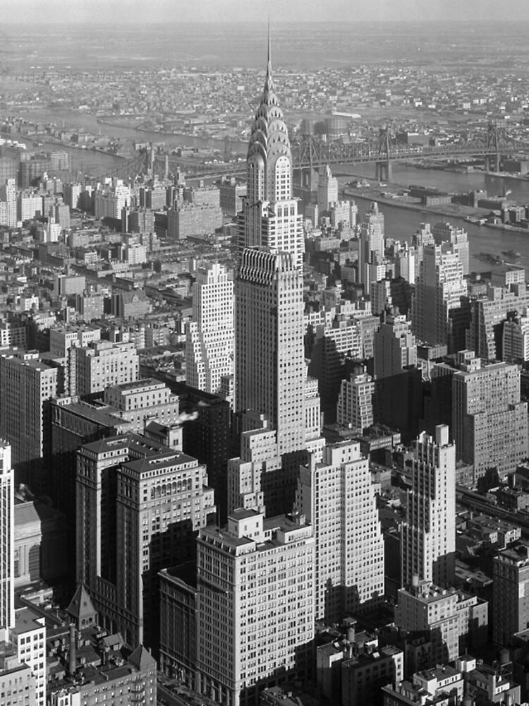 Vintage Midtown Manhattan Photograph de BravuraMedia
