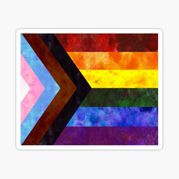 Progress Pride Digital Quilt Sticker